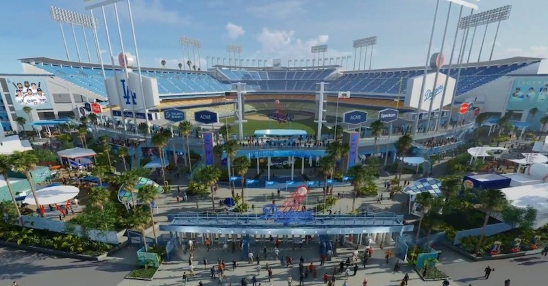 L.A. Dodgers announce $100 million renovation plan for Dodger ...