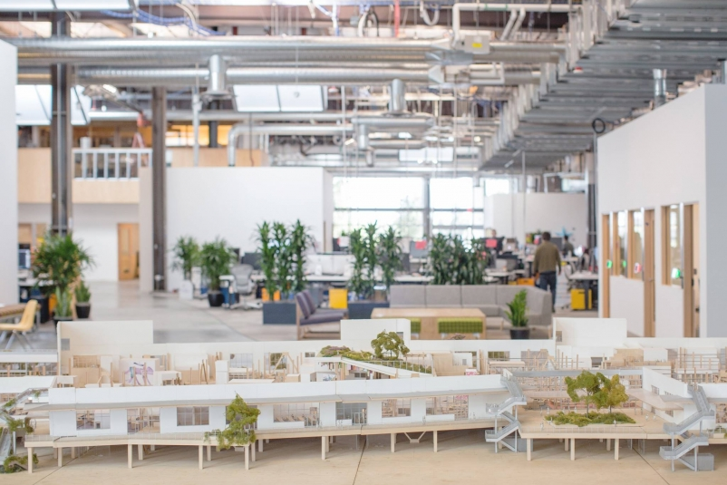 Facebook plans to build two more Frank Gehry-designed offices