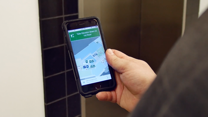 Mobile wayfinding platform helps patients, visitors navigate convoluted health campuses