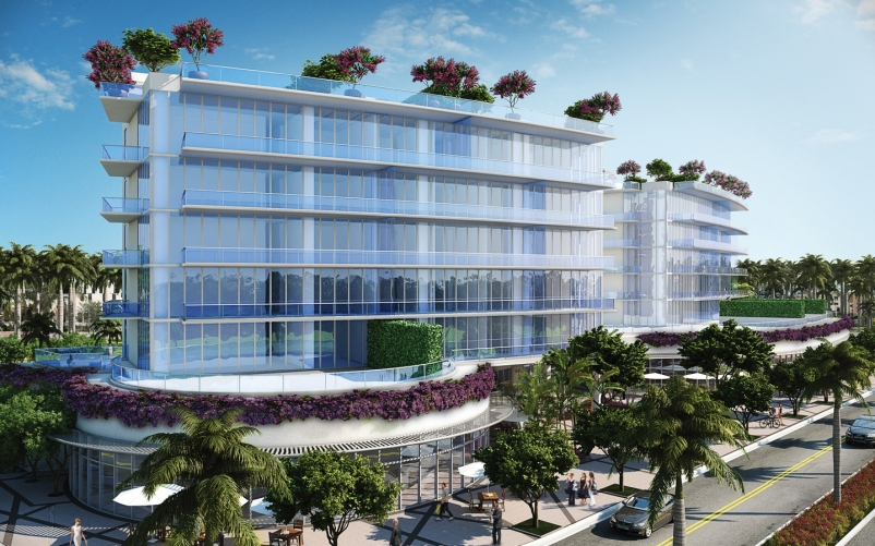 Plaza Construction Has Started On Two More Ultra Luxury Iniums For The Related Group Included Are 187 Million One Ocean In South