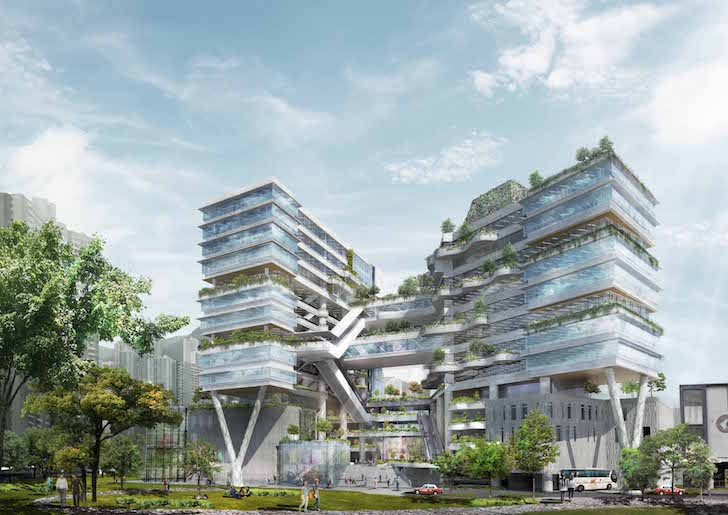 School in Hong Kong will feature bioclimatic façade