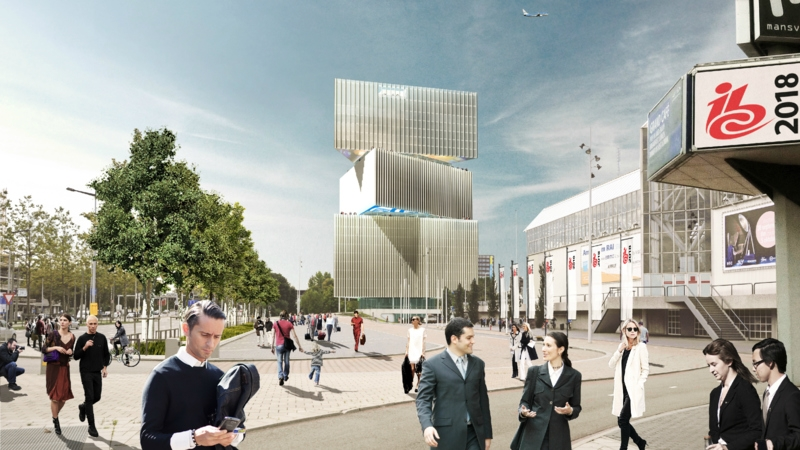 OMA unveils design for the Netherland's largest hotel