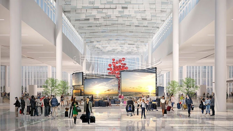 Orlando Airport's new south terminal