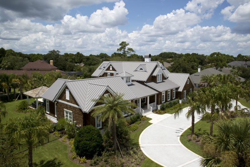 Metal Roofs Take The Residential Market By Storm Building Design
