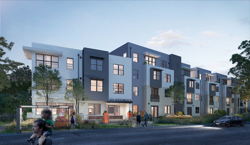 Serramonte Faculty and Staff housing project, Jefferson Union High School District Daly City, California SVA Architects