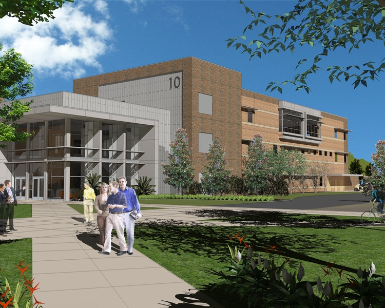 Construction is now under way on the Valencia College West Campus Building 10, a