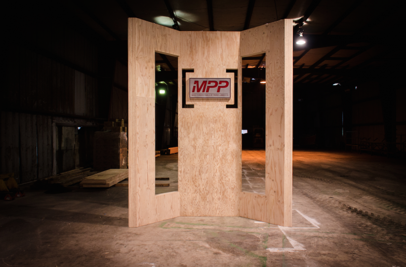 Oregon lumber provider unveils mass plywood panel for tall wood structures