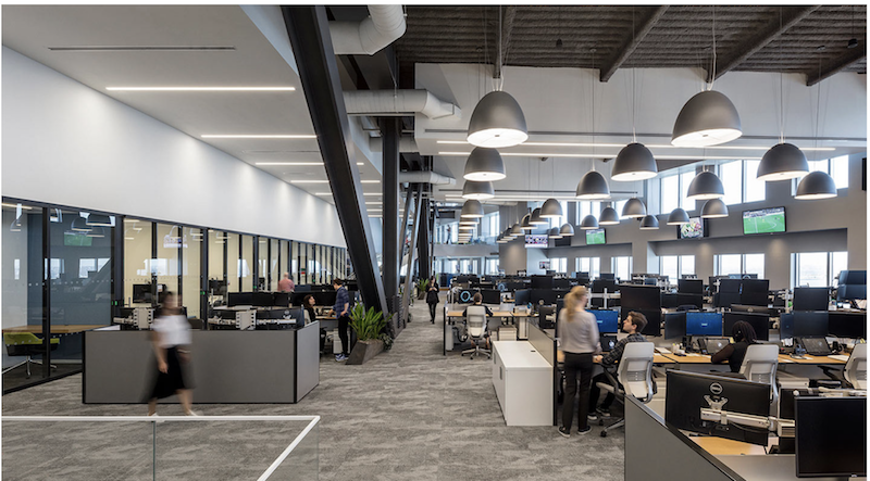 Open Floor Plans That Encourage Collaboration Are Becoming U201cbest Practicesu201d  For Office Designers. Image: Ted Moudis Associates