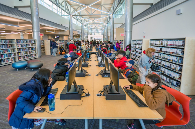 New library offers a one-stop shop for what society is craving: hands-on learning