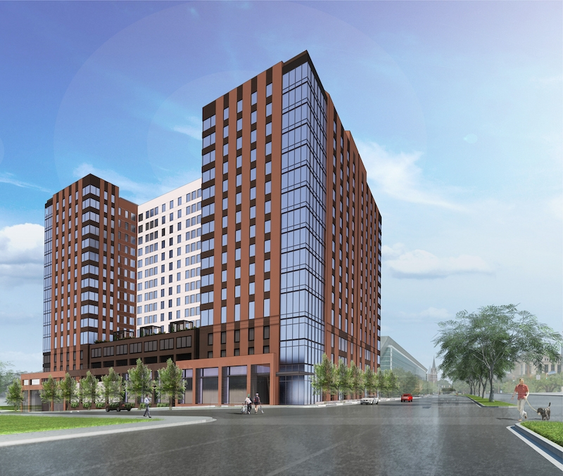 The Standard at Columbia exterior rendering