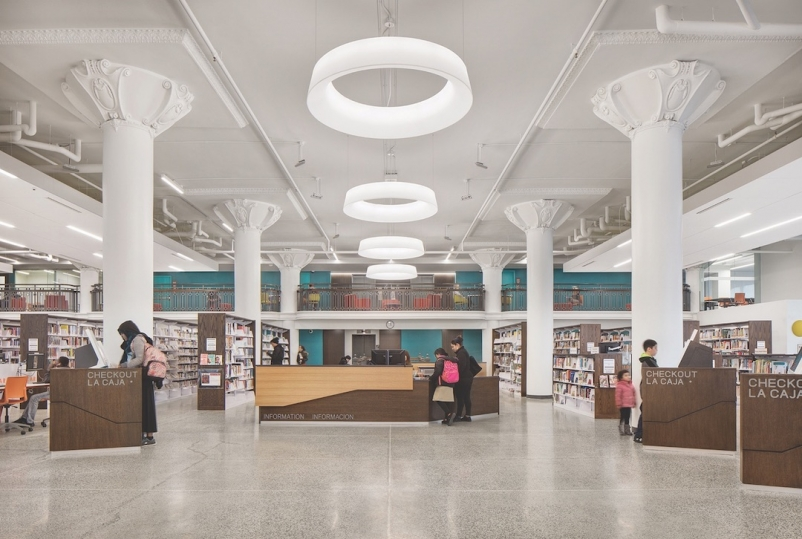 Top Cultural Sector Architecture Firms FOR 2019 MilwaukeeLibrary1_use