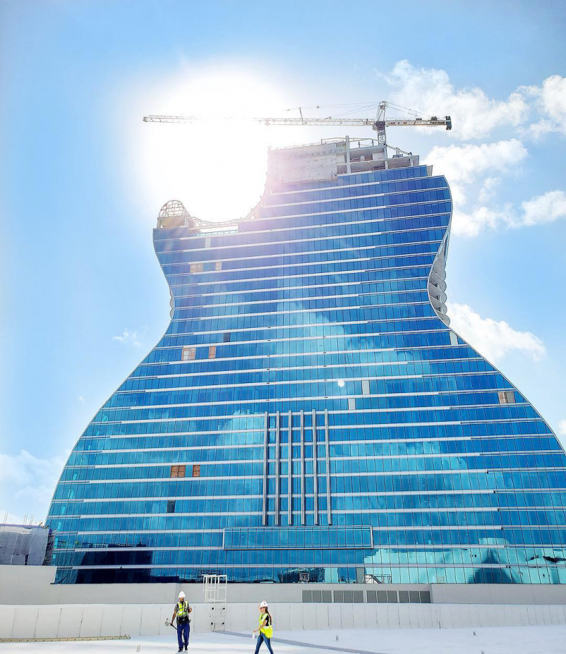 Top Hotel Sector Construction Firms for 2019 Giants 300 Report Suffolk Construction Hard-Rock-Hollywood-Hotel