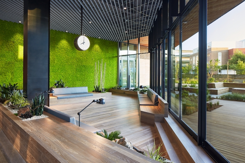 Portland S Newest Office Buildings Put Nature On Center Stage