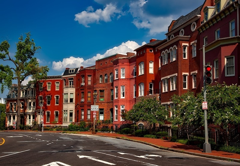 Washington D.C. row houses
