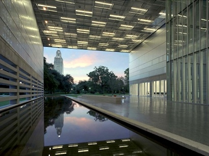 Louisiana State History Museum in Baton Rouge, La. Image courtesy of Timothy Hur