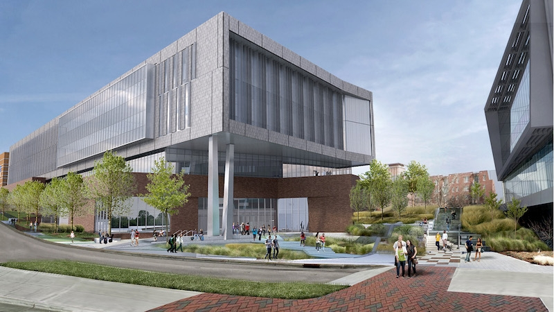 Fitts-Woolard hall rendering