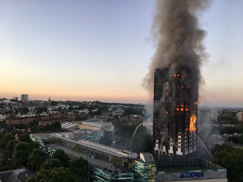 After Testing Seven Tower Blocks Found To Have Similar Cladding As Grenfell