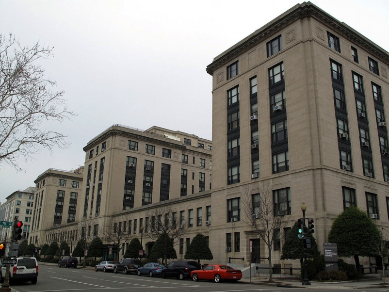 U.S. General Services Administration Building-E Street facade. Photo: General Se
