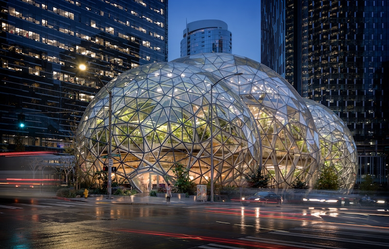 Thrown A Curve Fitting A Restaurant Into Spherical Dome Was The