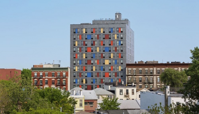 Colorful Boston Road building offers affordable housing in the Bronx