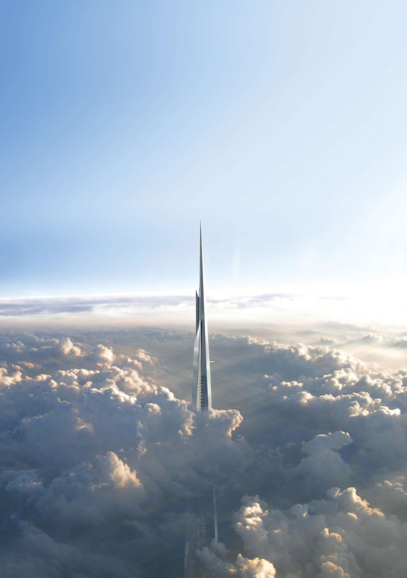 At More Than 1 Km Kingdom Tower Will Be The Worlds Tallest Building