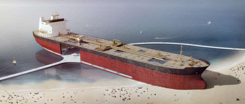 Artists Turn Tankers into Architecture