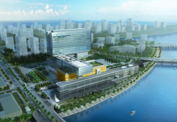The Cleveland Clinic Abu Dhabi is one of Gehry Technologies' latest projects. Re