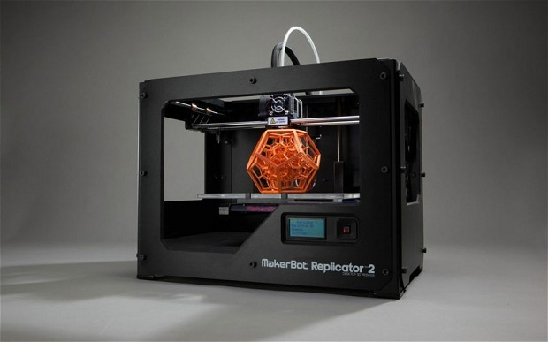 Photoshop CC supports the most popular desktop 3D printers, such as the MakerBot