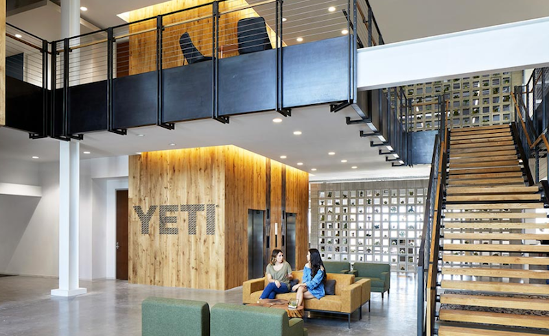 Yeti's new Austin HQ designed by Gensler