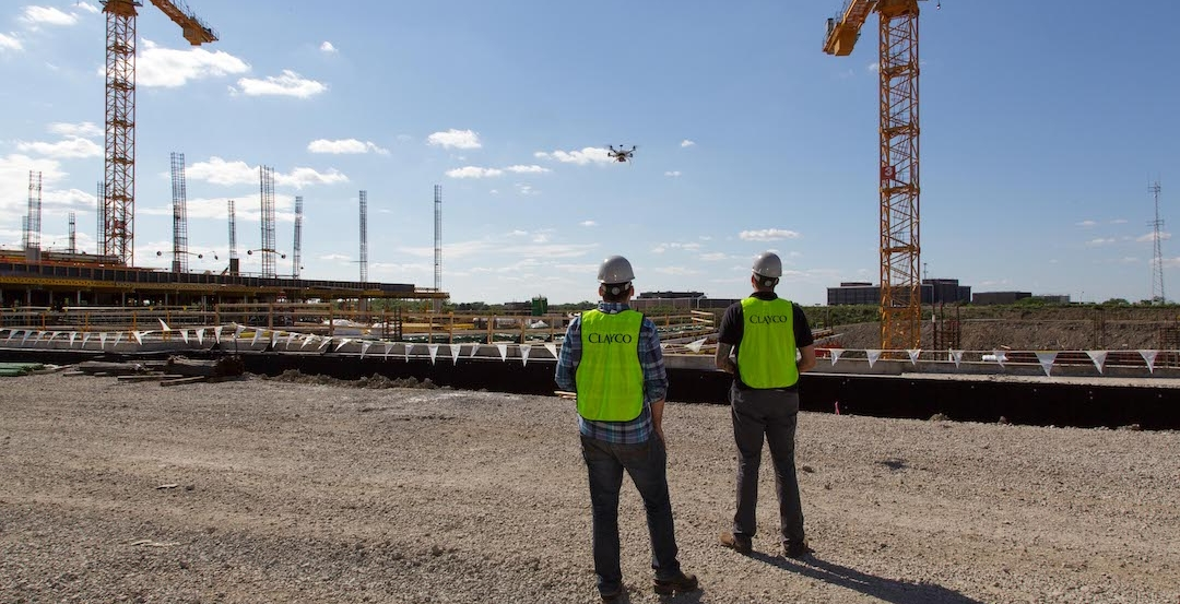 aec innovators, Clayco, drones, innovation, construction