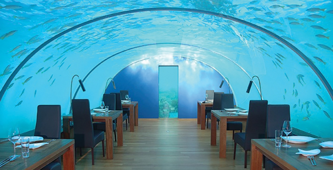 Underwater Restaurant To Open In The Maldives Building