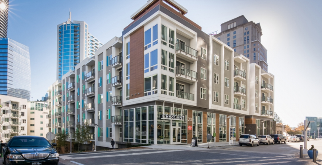 Nichiha adds distinctive edge to Atlanta luxury apartment building
