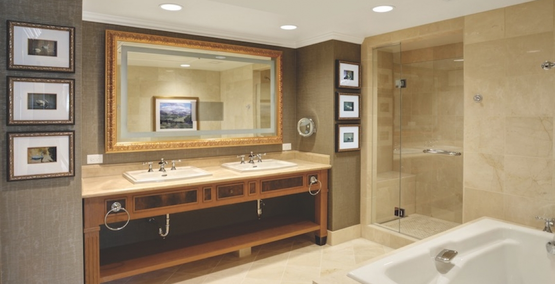 More than 170 bathroom pods were used in The Broadmoor West's $57 million renovation in Colorado Springs, Colo. The prefabricated pods are five-fixture ...