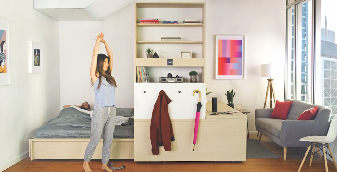 Robotic interiors: How to make a studio apartment feel as big as a one-bedroom unit