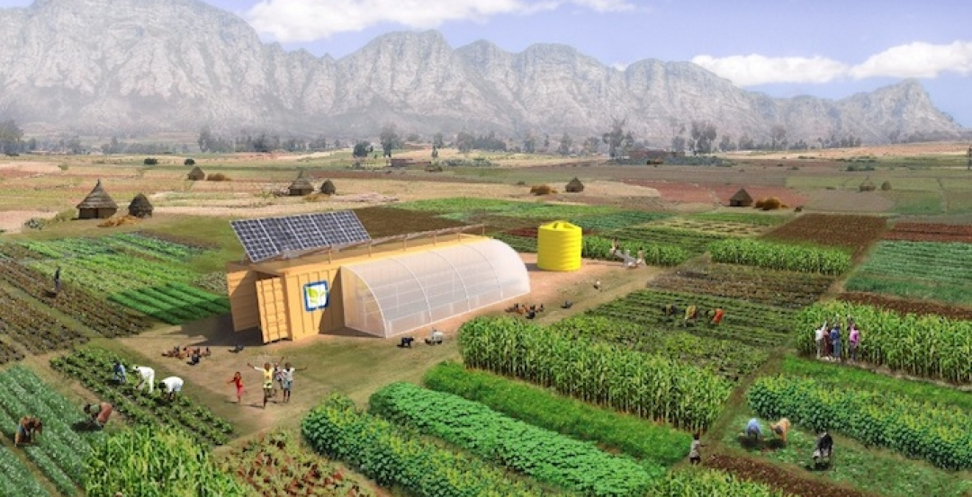All-encompassing farming kit can provide communities with a sustainable food supply