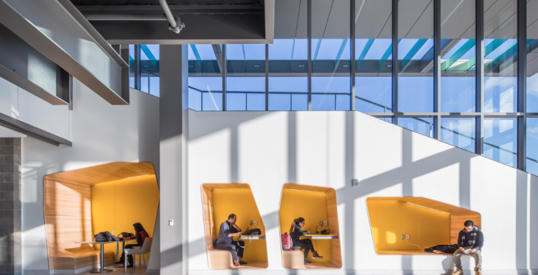 UNIVERSITY SECTOR GIANTS: Collaboration, creativity, technology—hallmarks of today's campus facilities