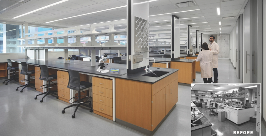 Stemmler Hall lab space