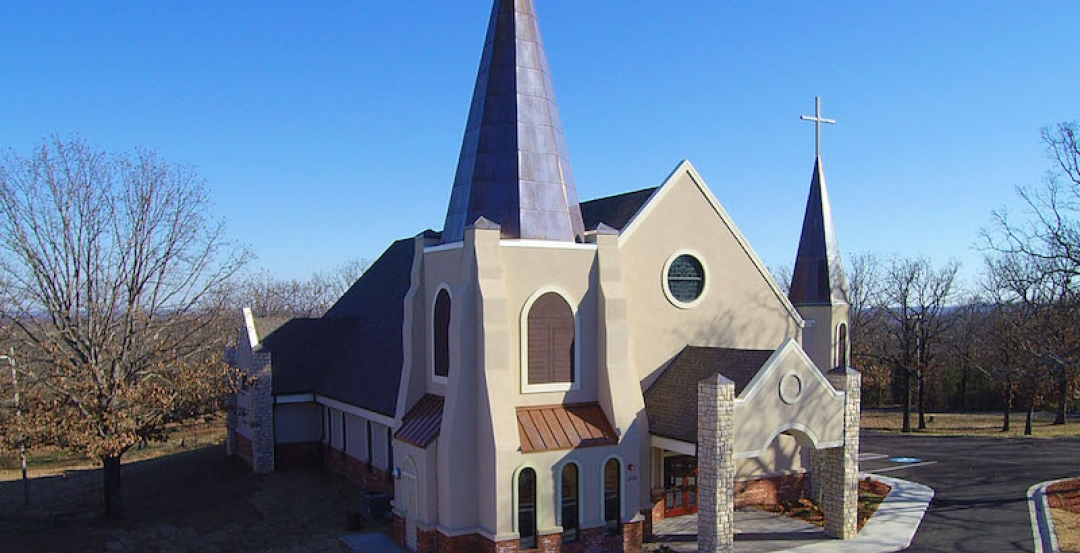 A Thoroughly Modern Very Traditional Church Building Design