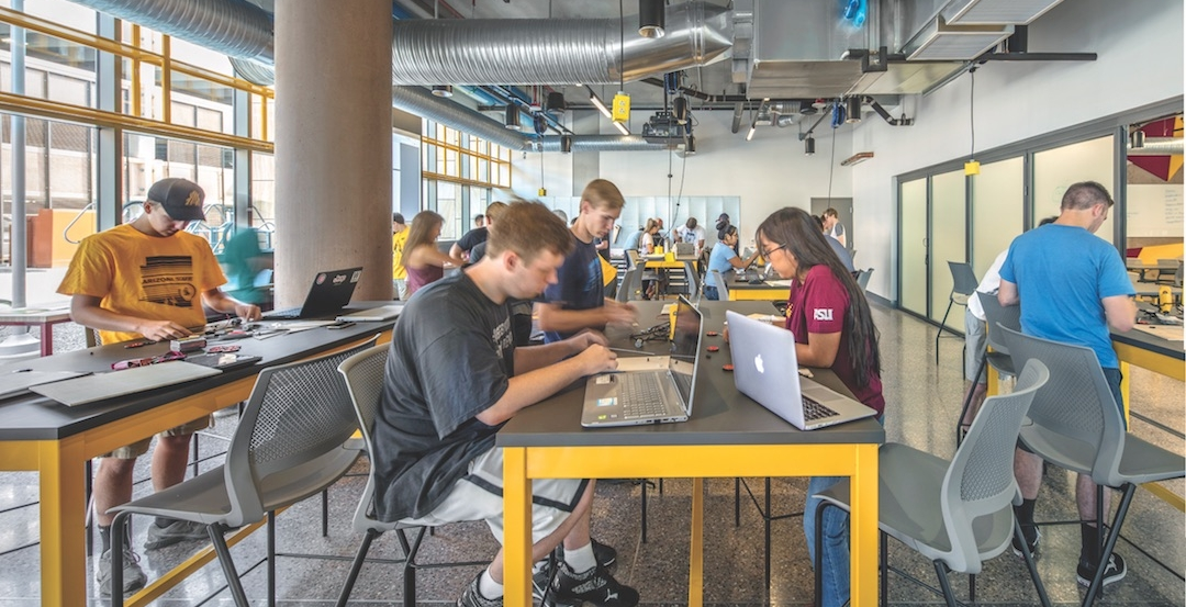 ASU's 3500 sf maker lab