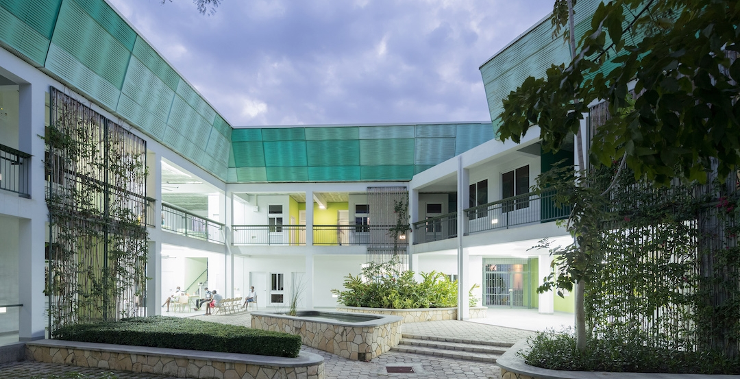 Best of healthcare design for 2019, GHESKIO Tuberculosis Hospital, Port-au-Prince, Haiti | MASS Design Group, Photo: Iwan Baan, courtesy AIA