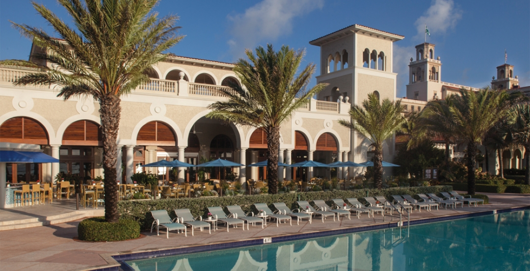 The Weitz Company recently completed a renovation of the Breakers Beach Club, a