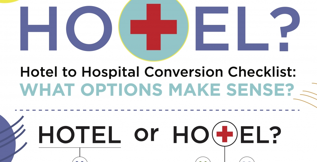 COVID-19 innovation: Setting parameters for hotel-to-hospital conversions