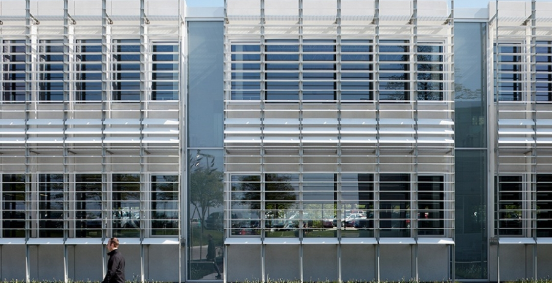 The 44,640-sf Iowa Utilities Board/Office of the Consumer Advocate Building in D