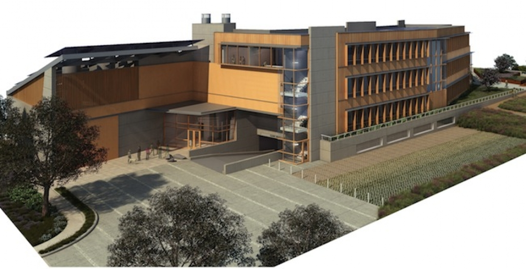 The J. Craig Venter Institute, a highly sustainable lab building, recently opene