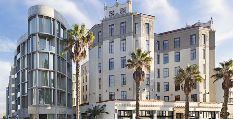 Santa Monica Proper Hotel exterior during the day