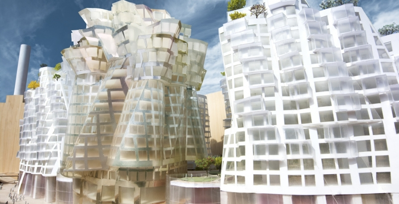Phase Three of the Battersea Power Station Development is designed by Gehry Part