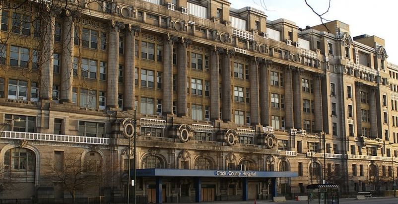 Redevelopment plan announced for Chicago's historic Cook County Hospital