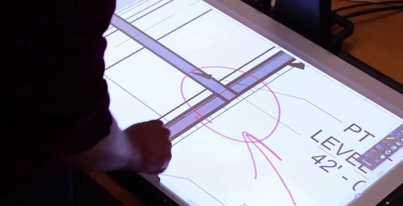 Startup introduces PaperLight, an interactive projection screen for AEC pros