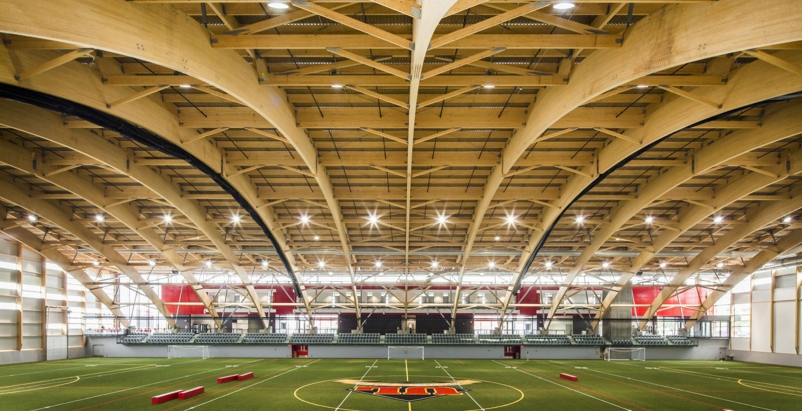 Laval University's TELUS Stadium houses