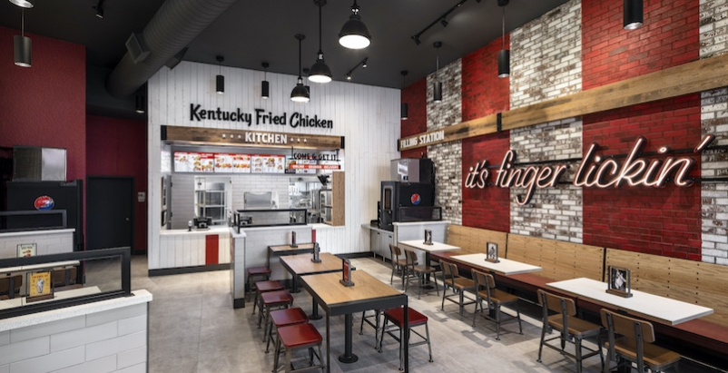 Kentucky fried chicken urban prototype